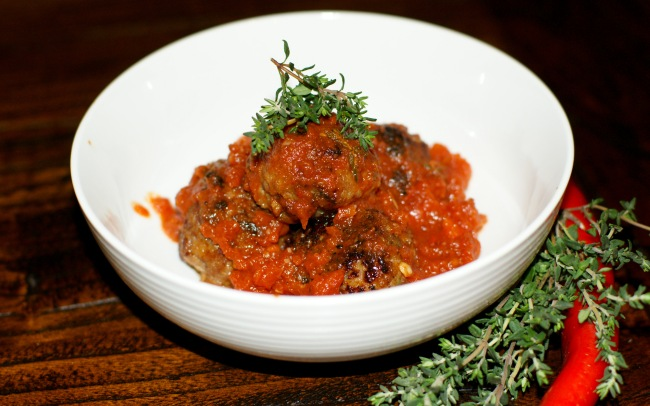 Pork, Apple  Thyme Meatballs-3
