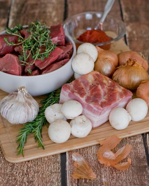 Chunky Beef, Mushroom & Bacon Pies-1