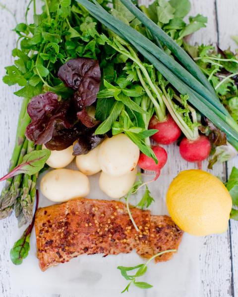 Hot Smoked Salmon & Potato Salad-1