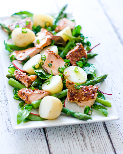 Hot Smoked Salmon & Potato Salad-2