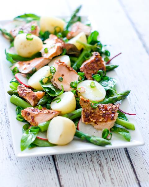 Hot Smoked Salmon & Potato Salad-2