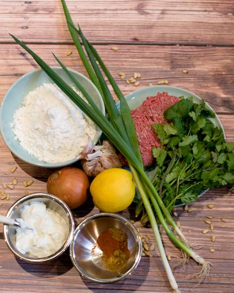 Spicy Lamb with Gluten Free Flatbread & Yoghurt