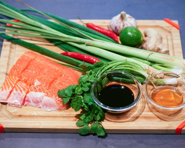 Honey Coconut Salmon Recipe — Dishmaps