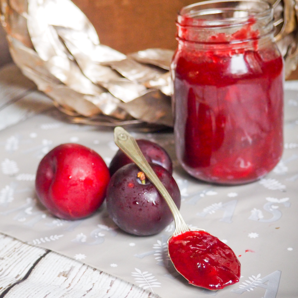 Christmas Plum & Ginger Chutney-4