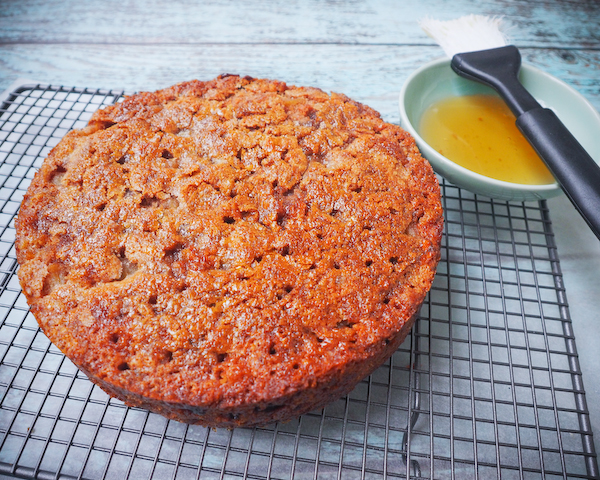 Spiced Pear, Walnut & Sultana Cake-3