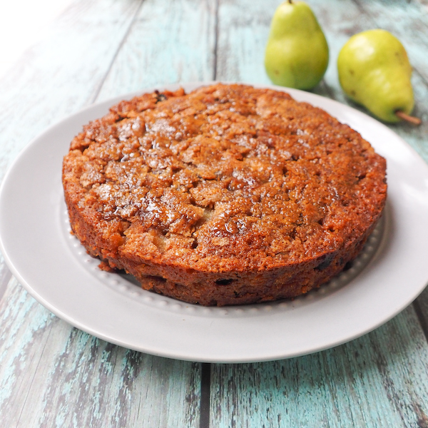 Spiced Pear, Walnut & Sultana Cake-4