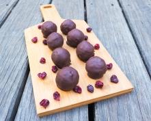 Coconut Cherry Choc Balls-4